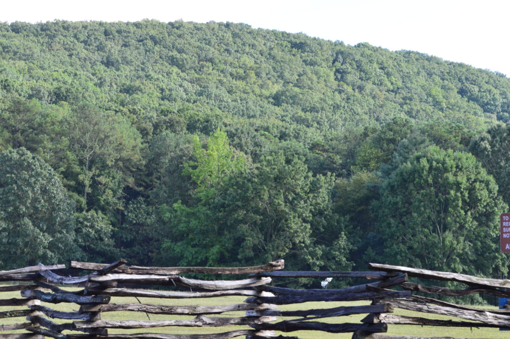 View of Kennesaw Mountain Battlefield National Park