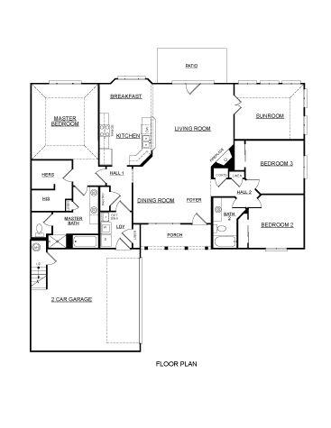 Arbor Green | Morgan Floor Plan