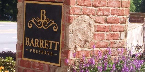 Barrett Preserve Monument