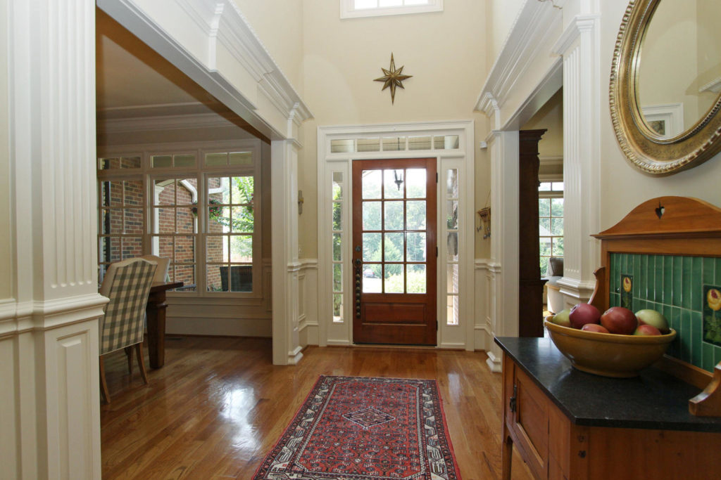 Welcoming Foyer is Bright and Clean | Staging A Home to Sell Fast