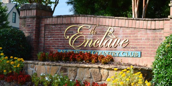 Enclave at Pinetree Country Club Marker 2