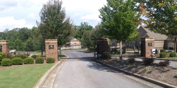 Arbor Ridge at Marietta Gated Entrance