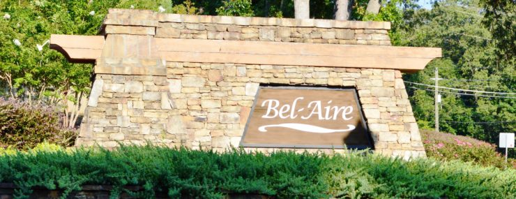 BelAire Entrance Monument | Active Adult | Powder Springs