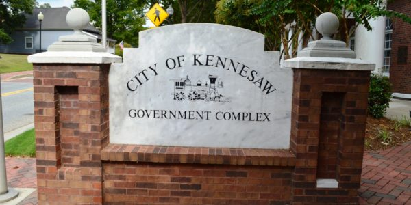 City of Kennesaw Government Marker