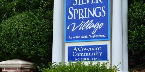 Silver Springs Village Marker Powder Springs