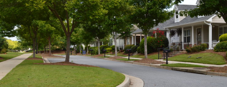 Silver Springs Village Streetscape | Powder Springs