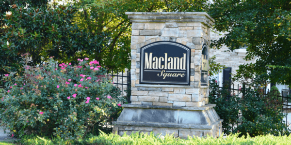 macland square entrance marker slider