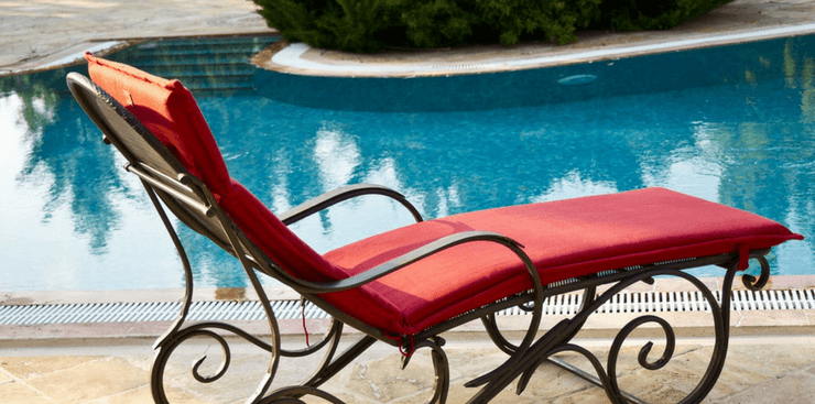 Relax in the sun by the pool | Active Adult Lifestyle | Marietta
