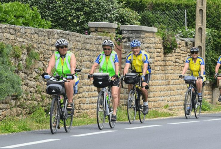 seniors riding bikes slider