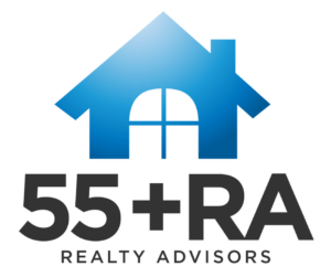 55+ Realty Advisor Designation Logo | DRA Homes