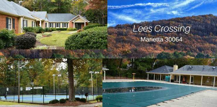Lees Crossing Marietta GA | Amenities | Club House | Pool | Tennis Courts
