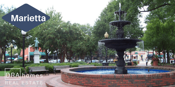 Marietta Square Glover Park | Marietta Real Estate Market