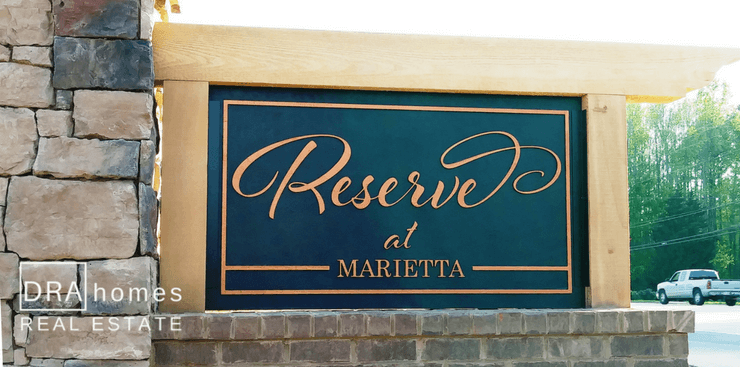 Reserve at Marietta | 30064 | Active Adult New Homes | Gated Community | DRA Homes Real Estate Watermark