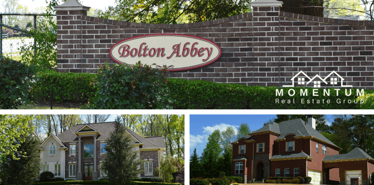 Bolton Abbey Marietta 30064 Homes for Sale | Bolton Abbey Entrance | Sample Homes | Momentum Real Estate Group