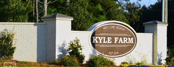 Kyle Farm | Powder Springs | New Homes for Sale | DRA Homes Logo