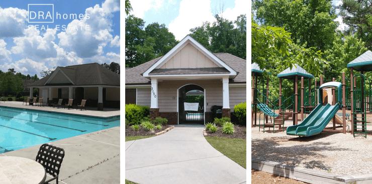 Robinson Glen Powder Springs Amenities | Pool | Club House | Playground | DRA Homes Real Estate