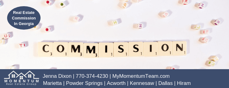 How Much Are Real Estate Commissions | Georgia | MyMomentumTeam.com