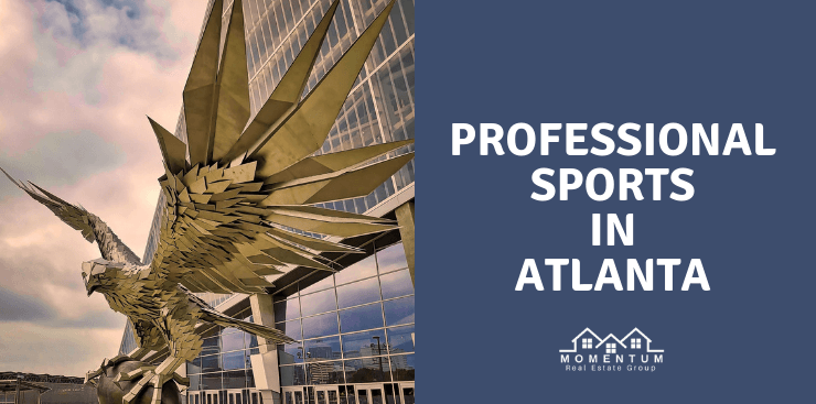 Atlanta Falcons Statue | Professional Sports in Atlanta | Retirement Communities in North Georgia | Jenna Dixon | DRA Homes Real Estate