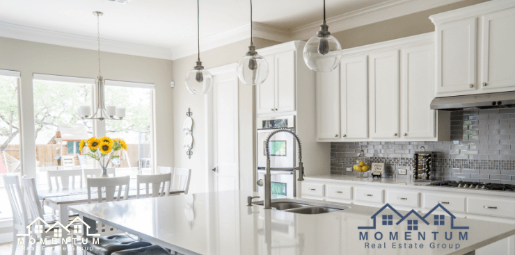 Kitchen Staging _ Home Staging TIps _ Marietta GA _ Selling a Home Fast _ Jenna Dixon _ Momentum Real Estate
