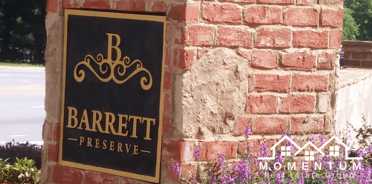 Barrett Preserve Marietta GA 30064 | Active Adult Homes Marietta 30064 | 55 Plus Homes in Marietta | Jenna Dixon