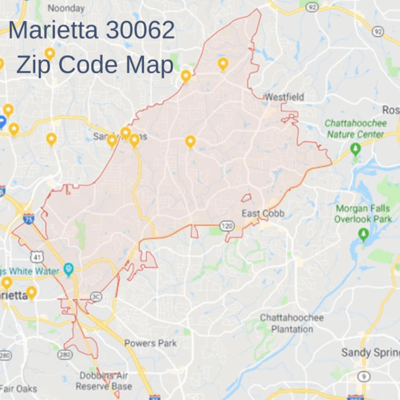 Homes for Sale in Marietta 30062 | Map of 30062 Zip Code | Momentum Real Estate Group
