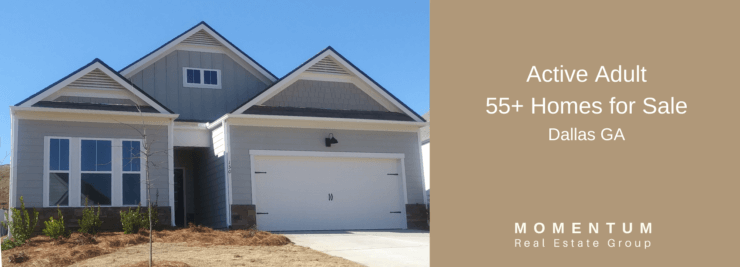 Active Adult Dallas GA _ 55 & Over Homes for Sale _ Jenna Dixon _ 55+ Realty Advisor