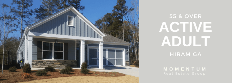 Active Adult Hiram GA _ 55 and over homes for sale _ Momentum Real Estate Group